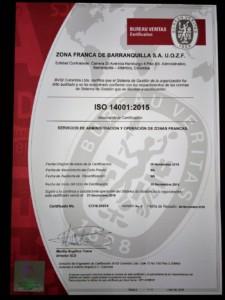 ISO 14001-2015 Medio Ambiente