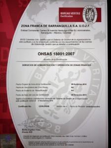 OHSAS 18001-2007 Seguridad y Salud en el Trabajo